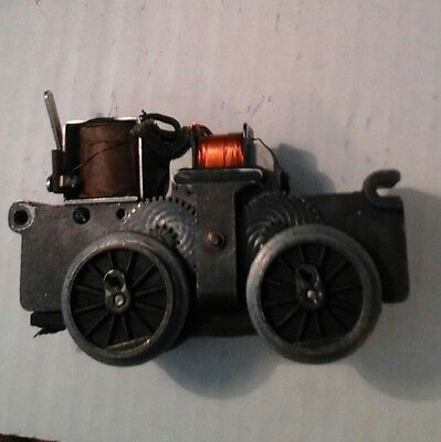 Lionel motor sold as for parts, restore, sold as  pictured+
