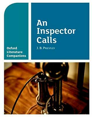 Oxford Literature Companions: OLC AN INSPECTOR CALLS by Priestley, J.B Book The
