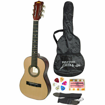 "PylePro 30"" Inch Beginner Jamer, Acoustic Guitar with Carrying Case (pgakt30)"