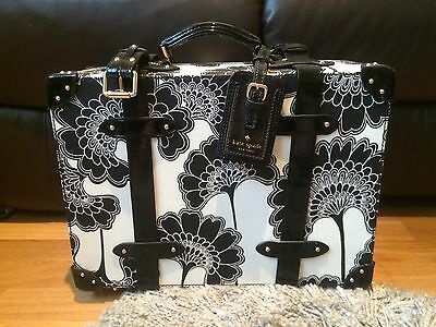 Kate Spade Florence Broadhurst Limited Edition Hard Case Trunk Suitcase Luggage