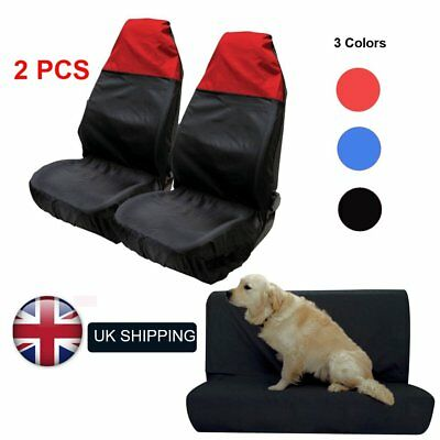 Car Van Heavy Duty Seat Covers Protectors Universal Waterproof  2 Front / 1 Back
