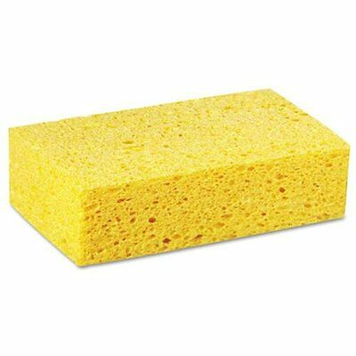 Premier CS3 Large Cellulose Sponge, 4.27 X 7.8, Yellow, 24/carton