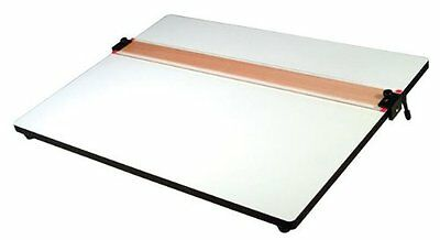 Helix Parallel Straight Edge Drawing Board - Plastic - White (HLX37179)
