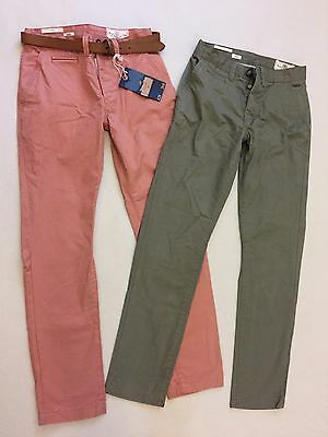 Mens Bundle of 2 Pairs NEXT ' SLIM'  Chino's / Jeans Size 26 S Exc Cond