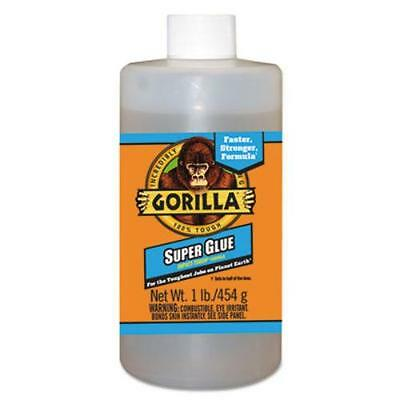 Gorilla Glue Company 78007 Instant Bond Superglue, 1 Lb Bottle, Clear