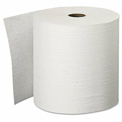 8 Kleenex Hard Roll Towels In White (11090)