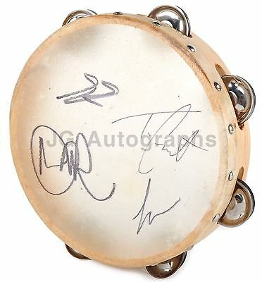 Dawes - American Folk-Rock Band - Authentic Autographed Tambourine