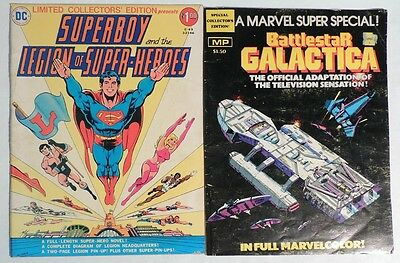P959 LIMITED COLLECTORS EDITION #C-49 & BATTLESTAR GALACTICA Marvel 3.5 VG- 1978