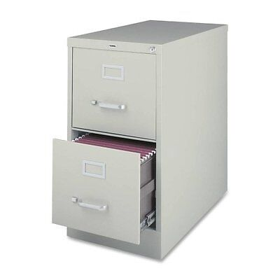 """Lorell Commercial-grade Vertical File - 15"""" X 22"""" X 28"""" - 2 X File Drawer[s] -"""