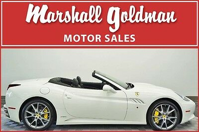 2012 Ferrari Other Base Convertible 2-Door 2012 Ferrari California Bianco Avus Nero Lthr Nav Quilted Magnaride 16,400 miles