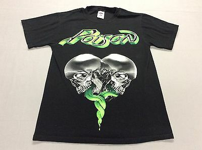 2007 Poison Raw Live And Uncut Concert Tee Shirt Size Adult Small