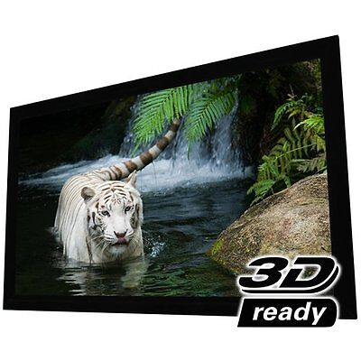 """Elunevision Reference Studio Fixed Frame Projection Screen - 100"""" - 16:9 -"""