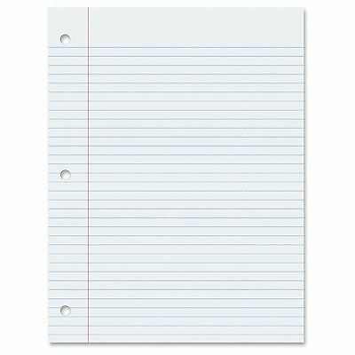 Pacon College-ruled Quality Filler Paper - 100 Sheets - Printed - College Ruled