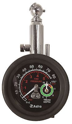 Astro Pneumatic 3085 2-in-1 Tire Pressure And Tread Depth Gauge