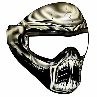 Omega 3011414 Warlord Protective Face Shield Dope Series