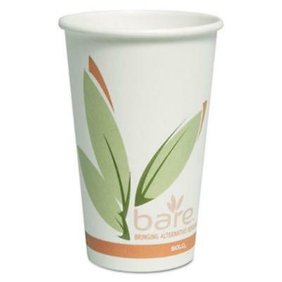 Solo Cups OF16RC-J8484 Bare By Solo Eco-forward Recycled Content Pcf Paper Hot