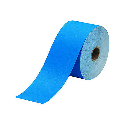3m 3M-36215 Stikit Blue Abrasive Sheet Roll, 2.75 In X 10 Yd, 40 Grade