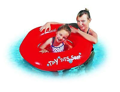 "Jilong - 29"" Blue And White Swirl On Red Children's Inflatable Swimming Pool"