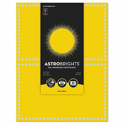 Astrobrights Certificate Paper (nee-91106) (nee91106)