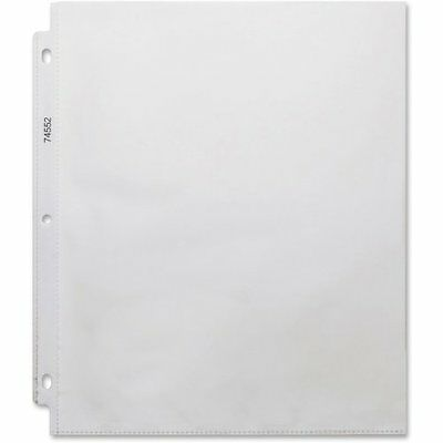Business Source Top-Loading Heavyweight Clear Sheet Protector (bsn-74552)