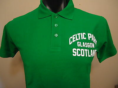 Celtic Official Licensed Polo Shirt Mens Small Brand New