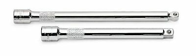 """S K Hand Tools 40159 Chrome Extension, 1/2"""" Drive, 3"""" Long"""