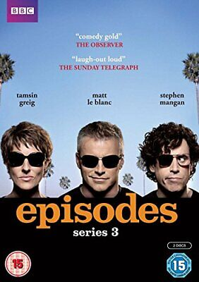 Episodes - Series 3 [DVD] - DVD  BKVG The Cheap Fast Free Post