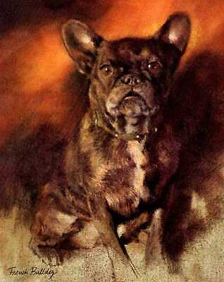 French Bulldog - Vintage Dog Art Print - Poortvliet