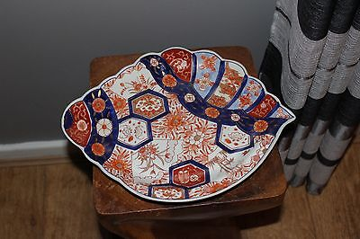 A  Fine Large Antique  Japanese Imari  Charger / Plate-19Thc