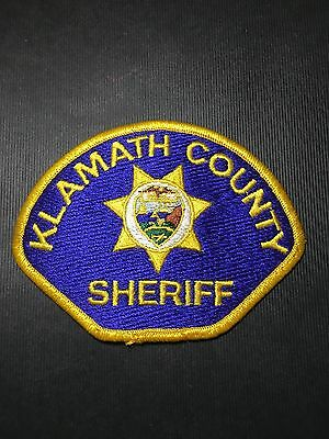 Klamath County Oregon  Sheriff Shoulder  Patch