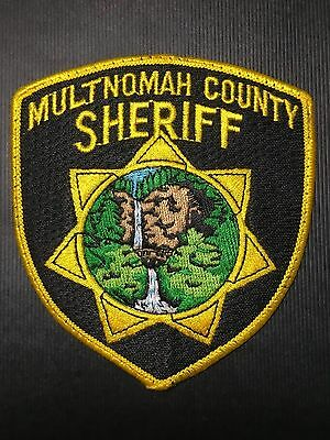 Multnomah County Oregon  Sheriff  Shoulder Patch