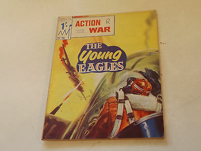 ACTION WAR PICTURE LIBRARY,NO 15,1966 ISSUE,GOOD FOR AGE,51 yrs old,RARE COMIC.