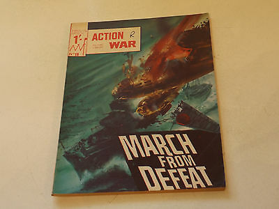 ACTION WAR PICTURE LIBRARY,NO 18,1966 ISSUE,GOOD FOR AGE,51 yrs old,RARE COMIC.