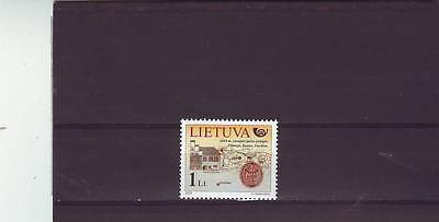 Lithuania - Sg818 Mnh 2003 Postal History - Post Office, Map & Seal