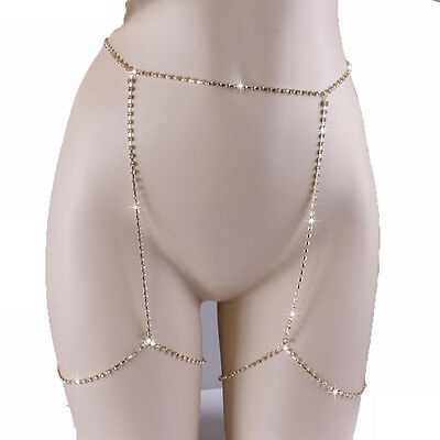 Boho Thigh Leg Chain Beachwear Beach Waist Body Chain Harness Jewelry Decor