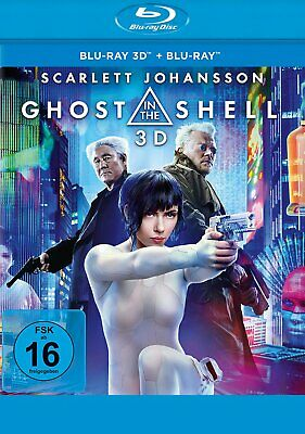 Ghost in the Shell - Blu-ray 3D + 2D # 2-BLU-RAY-NEU