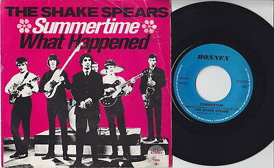 The SHAKE SPEARS * 1965 Rhodesian SKA MOD GARAGE RE 45 * Listen!