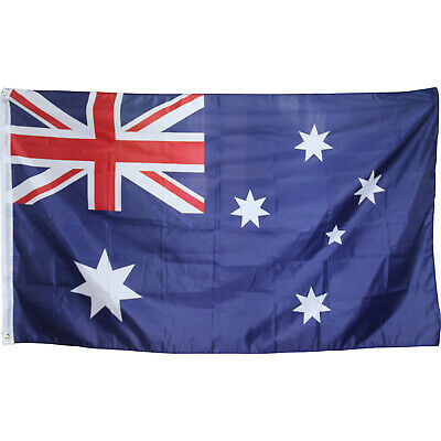 TRIXES Large Australian 5ft x 3ft 2016 Rio Olympic Games Flag