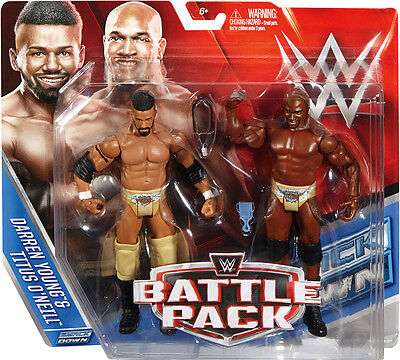 Wwe Wwf Mattel Battle Pack 39 Darren Young & Titus O'neill Prime Time Players