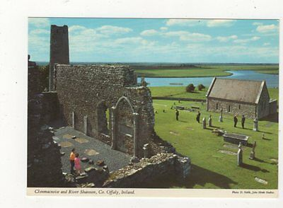 Clonmacnoise & River Shannon Co Offaly Ireland Postcard 873a