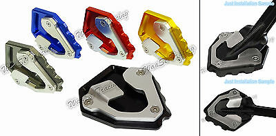 Kickstand Side Stand Extension Plate Pad For 16-17 HONDA CRF1000L Africa Twin