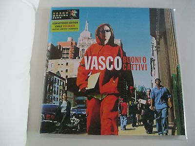 Vasco Rossi Buoni O Cattivi 2 Lp Vinile Colorato - Limited Numbered Edition 2017