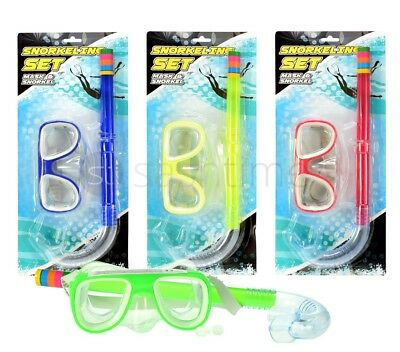 New Mask & Snorkel Set Ultra Clear Snorkelling Swimming Scuba Diving Dive