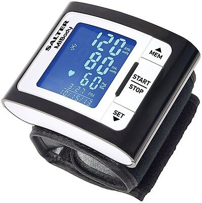 Salter MiBody Bluetooth Automatic Wrist Blood Pressure Monitor - CLR-14200
