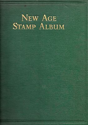 STANLEY GIBBONS NEW AGE STAMP ALBUM, for stamps of King G VIth, incl. 108 m/m st