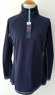 Ladies Equestrian Riding Long Sleeve Stretch Top Womens Size Large 16-18 NEW