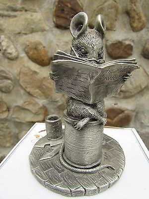 Beatrix Potter PEWTER Collection~The Tailor of Gloucester~11.5cms tall Ex co,Box
