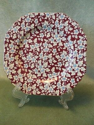 Lord Nelson Ware Royal Brocade Chintz 8 ½ inch square Plate