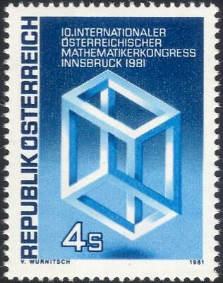Austria 1981 Mathematics Conference/Escher/Mathematician/People 1v (n44606)