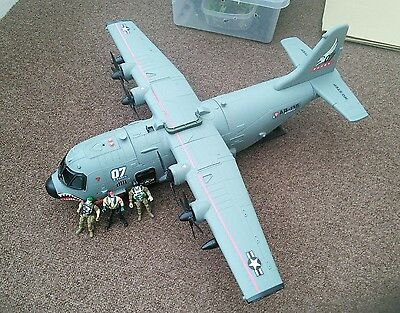 Chap Mei MILITARY ARMY AIRPLANE | Toy Large 78cm | Sounds ac130